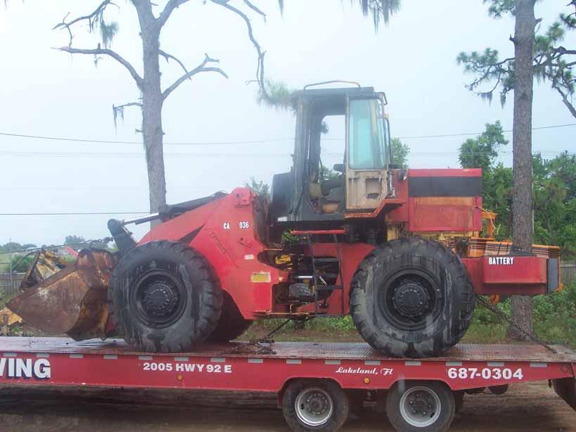 Catepillar 936E Parts