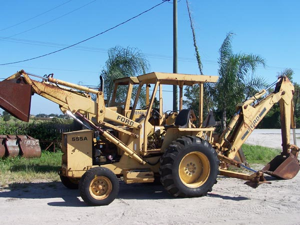 Ford Backhoe Parts List : Ford a backhoe parts