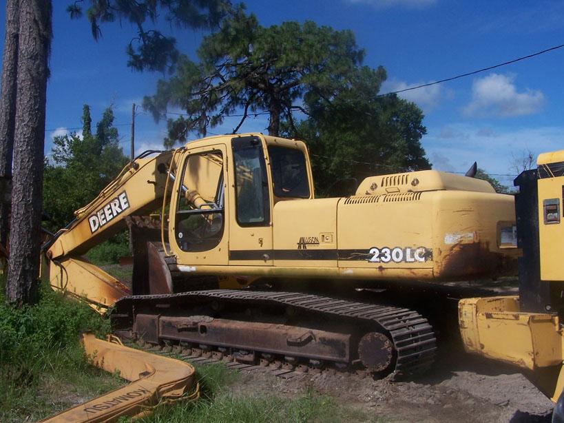 John Deere 330LC Parts