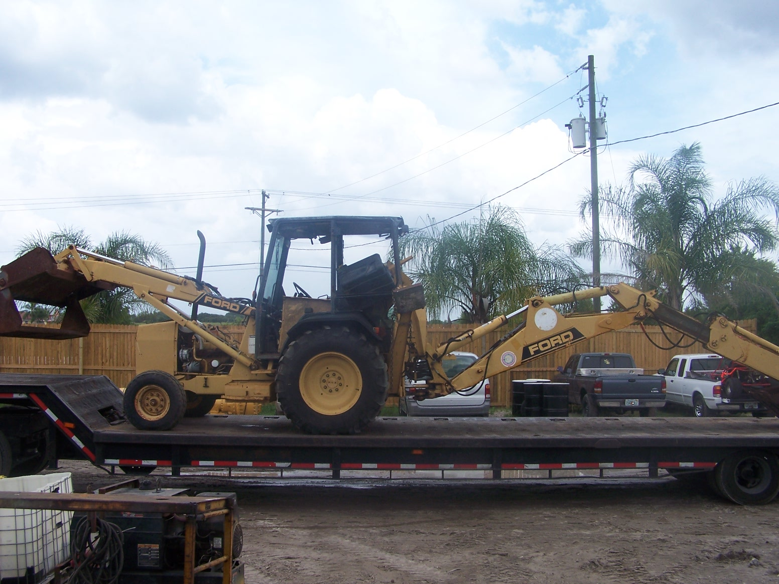Ford 555c Backhoe Parts : Ford c parts southern tractor