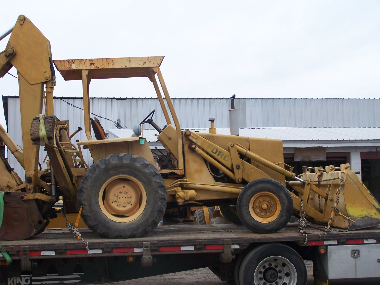 Ford 555c Backhoe Parts : Ford parts southern tractor