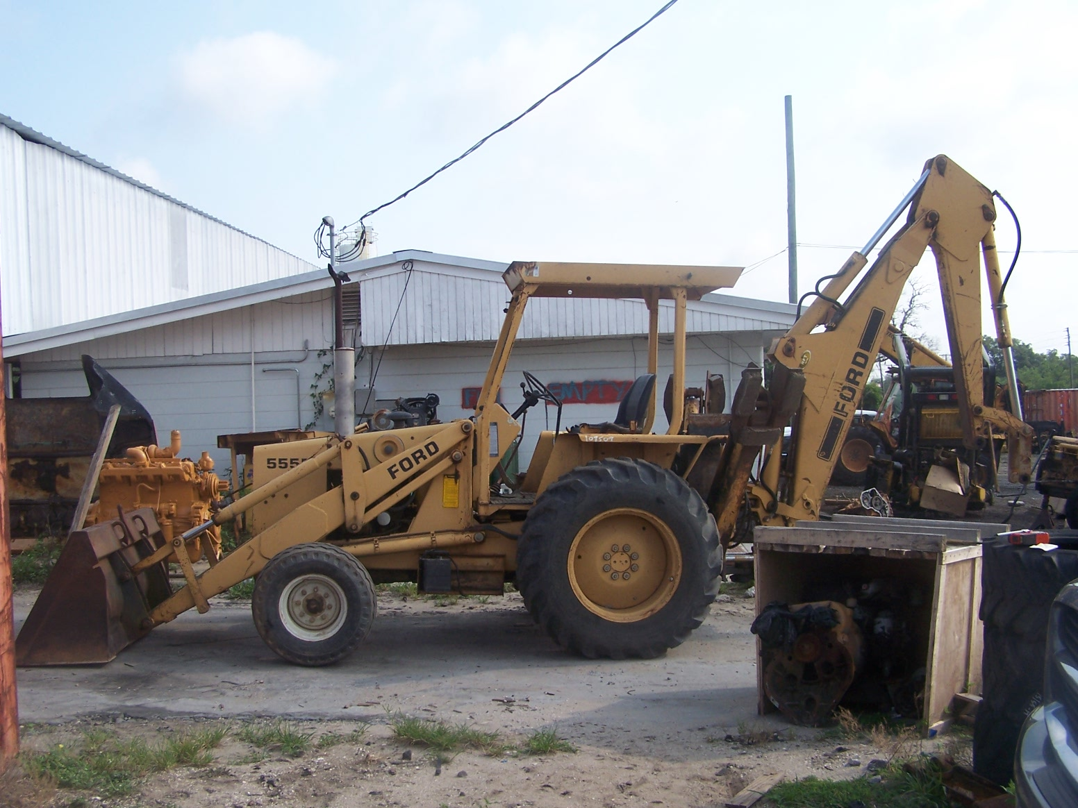 Ford 555 Backhoe Parts
