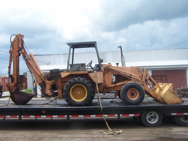 Case 580c Backhoe : Case c parts southern tractor