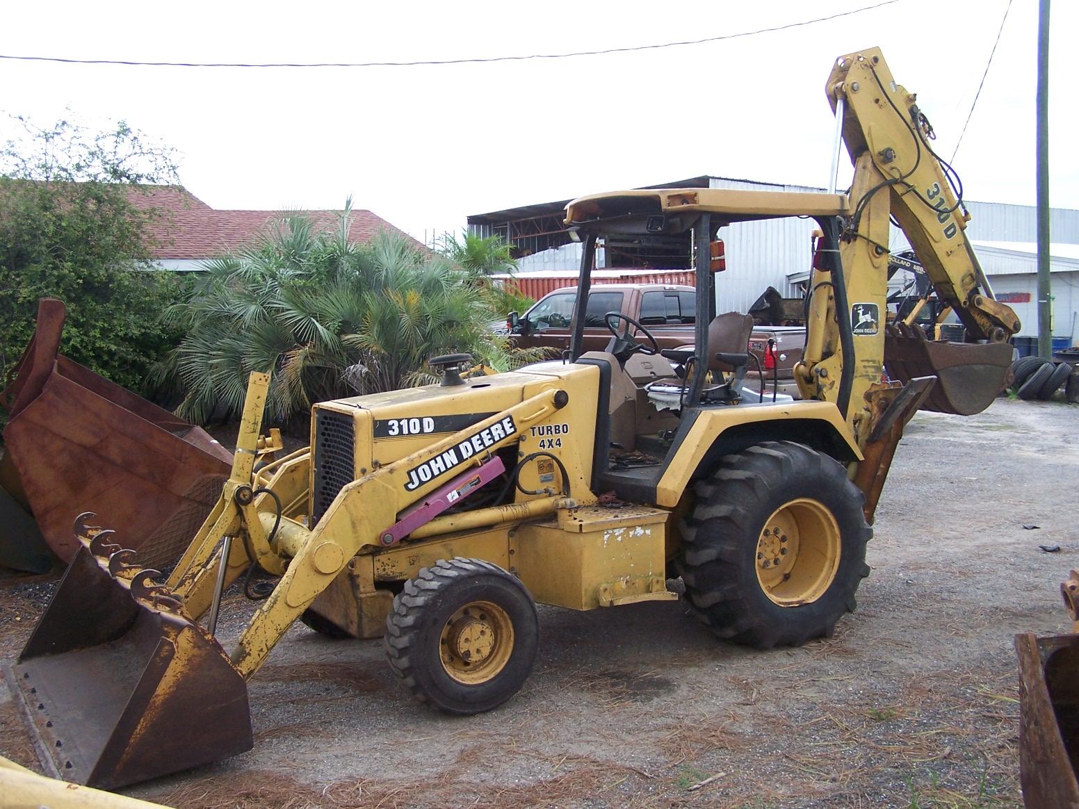 John Deere Tractor Backhoe Parts : John deere d parts southern tractor