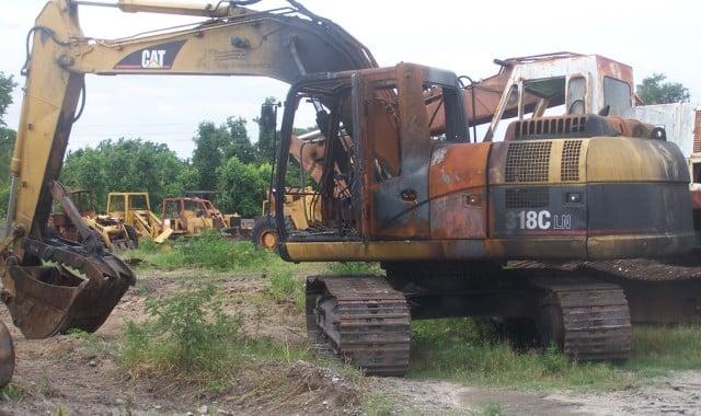 Caterpillar 318CLN Parts