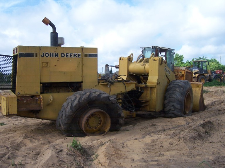 John Deere 544E Parts