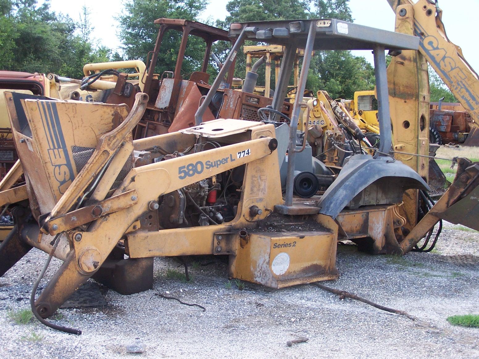 Case 580sl Parts