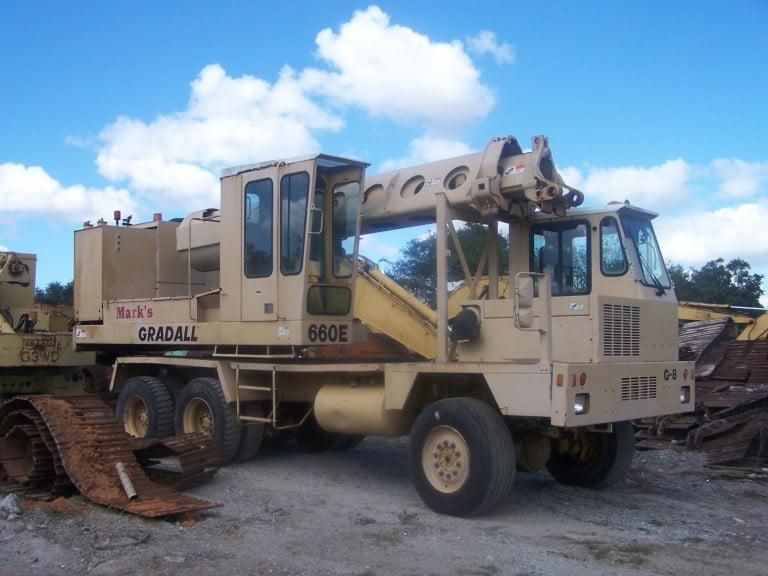 Gradall G660E Parts