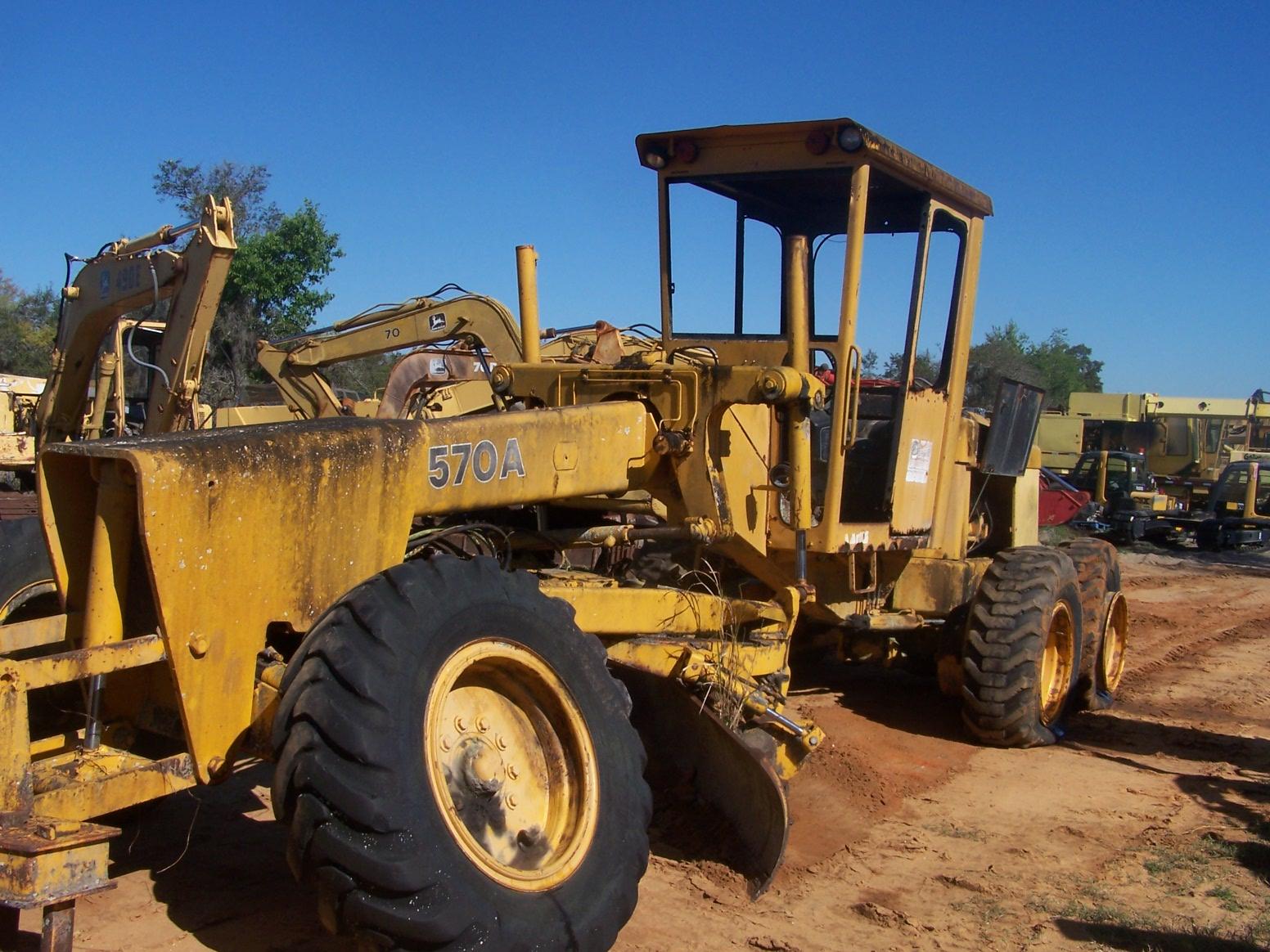 John Deere Tractor Backhoe Parts : John deere a parts southern tractor