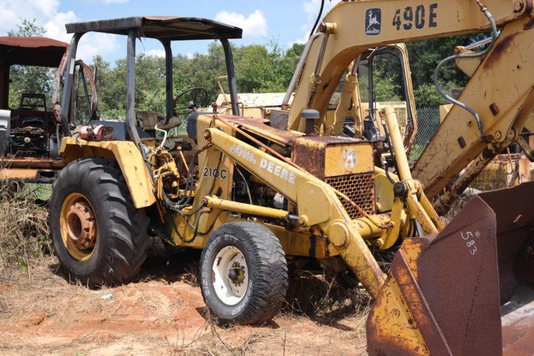 John Deere 210C Parts
