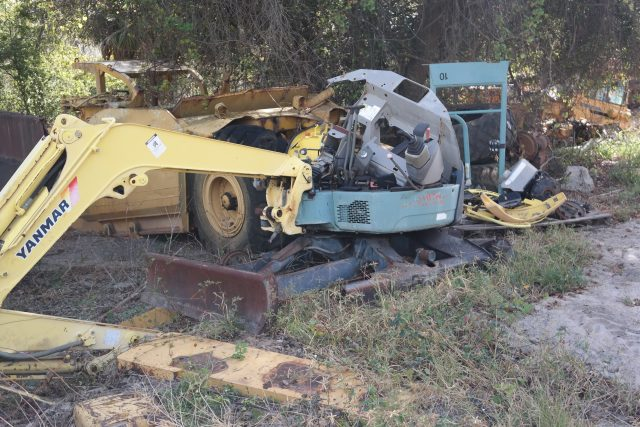 Yanmar Salvage Tractor Parts : Yanmar vio parts heavy equipment southern tractor