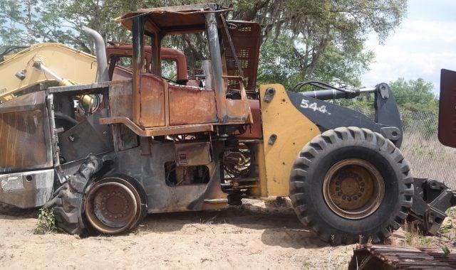 John Deere 544J Parts