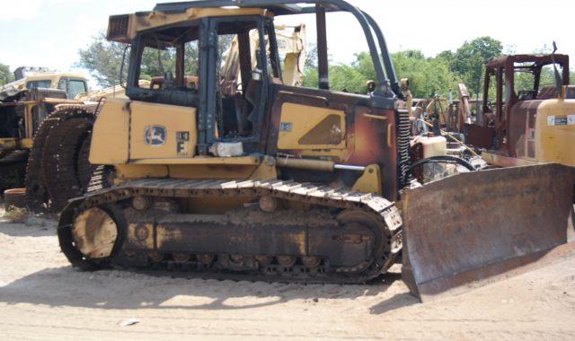 John Deere 750J Parts