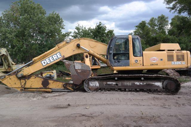 John Deere 330CLC Parts