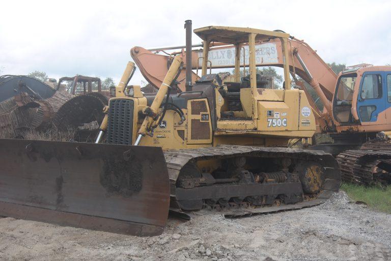 John Deere 750C II Parts