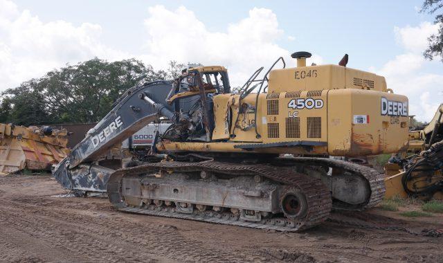 John Deere 450DLC Parts